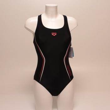 Jednodílné plavky Arena 002566 černé