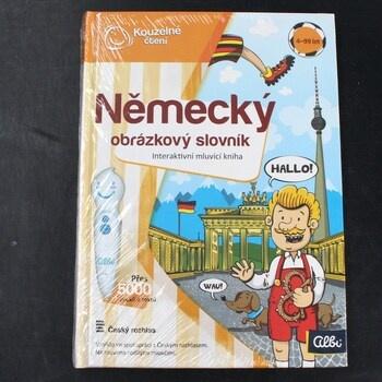 Kouzelné čtení Německý obrázkový slovník
