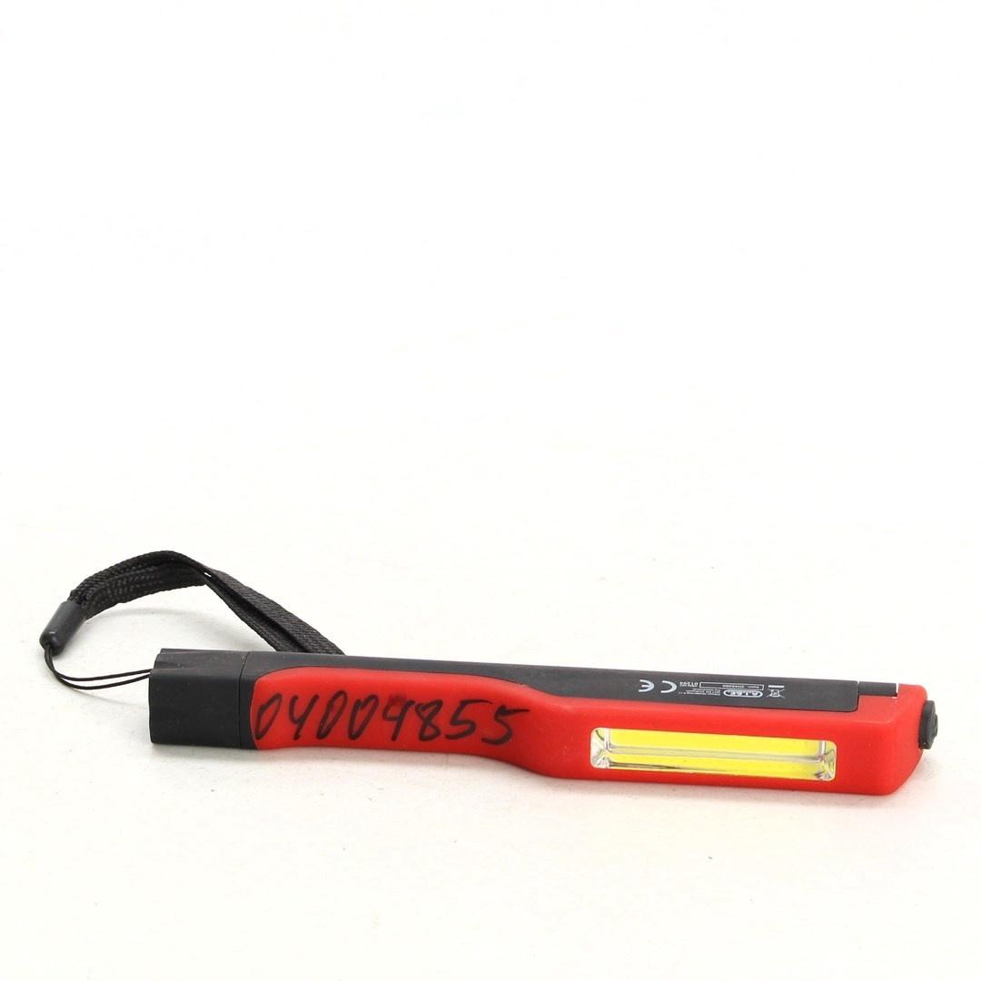 Ruční svítilna Kinzo červeno-černá
