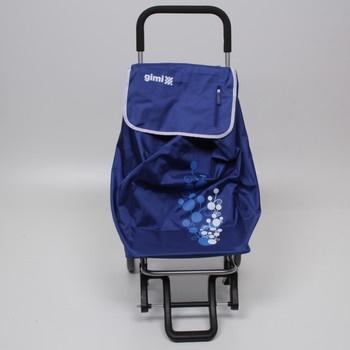 Nákupní vozík Gimi Twin 154320 modrý
