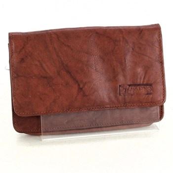 Kožená peněženka Balino hnědá