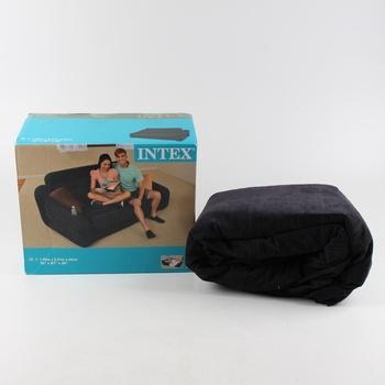 Rozkládací nafukovací gauč Intex černý