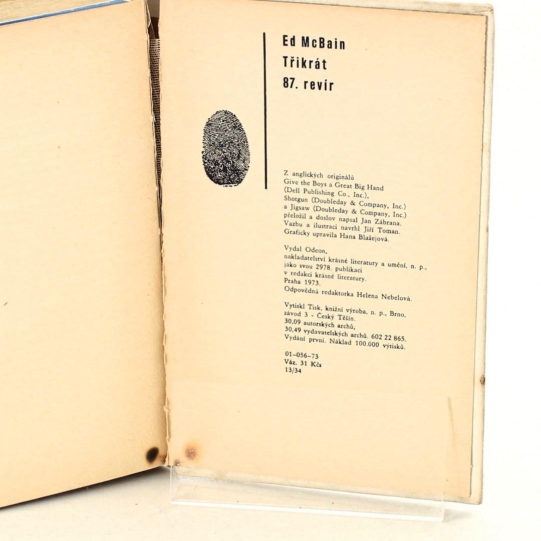 Kniha Ed Mac Bain: 87. revír