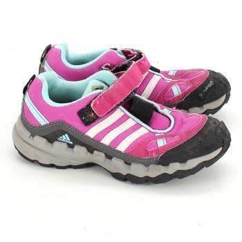 Dětské sportovní boty Adidas růžové