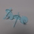 Formičky na nanuky modré barvy