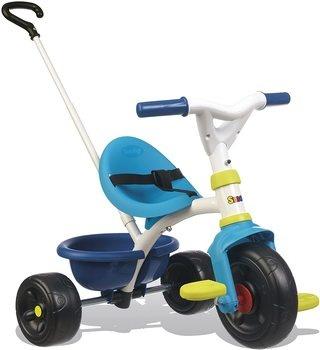 Dětská tříkolka Smoby Blue 740323 2v1