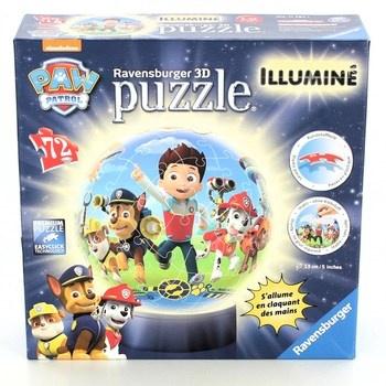 3D puzzle Ravensburger Illuminé Paw Patrol