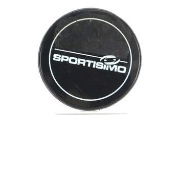 Hokejový puk Sportisimo černé barvy 958a219aaf