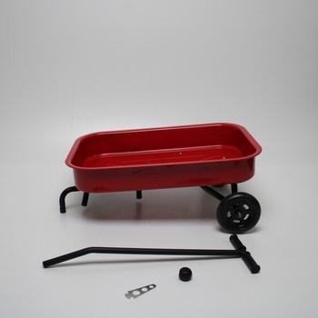Kovoý ruční vozík Legler 2020136 červený