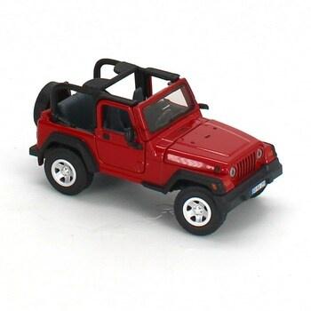 Auto Siku 4870, Jeep Wrangler, červené