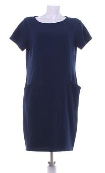Dámské šaty Pepco modré s kapsami