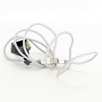 USB/USB-C kabel Goobay bílý 100 cm