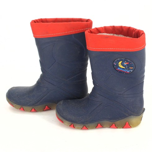 Výprodej. Dětské zimní boty Space Adventure modré d38b459244