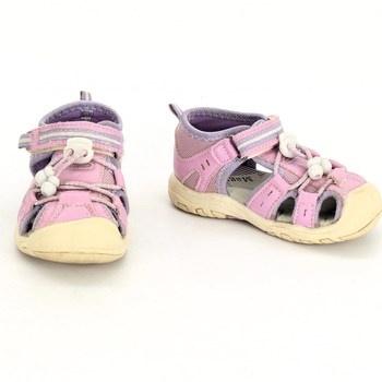 Dívčí sandálky Magnus růžové