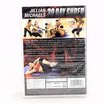 DVD 30 day shred Jillian Michaels