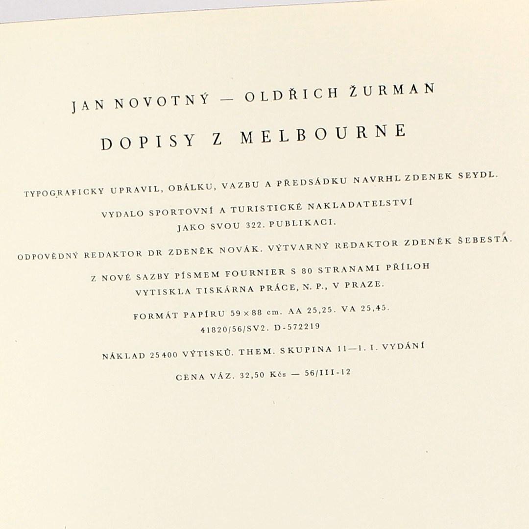 Oldřich Žurman: Dopisy z Melbourne