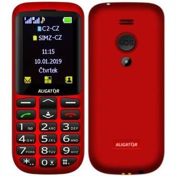 Mobil pro seniory Aligator A700 Senior Dual