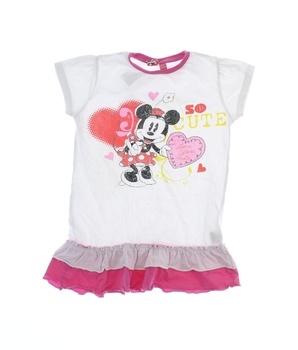 Dívčí letní šaty Minnie Mouse s potiskem