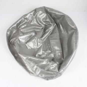 Gymnastický míč LifeFit stříbrný