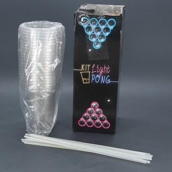 Žertovná party hra Kit Light Pong