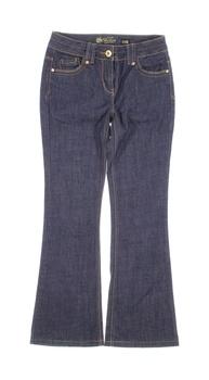 Dámské zvonové džíny Debenhams modré