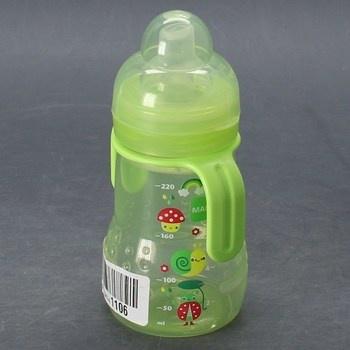 Kojenecká láhev Mam zelená 220 ml