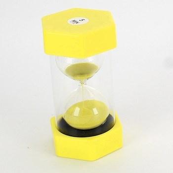 Přesýpací hodiny Schramm žluté