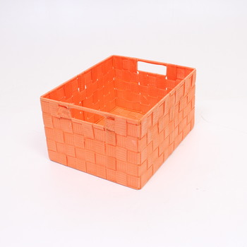 Oranžový skládací košík Wenko
