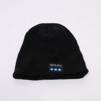 Čepice Eversee s Bluetooth černá