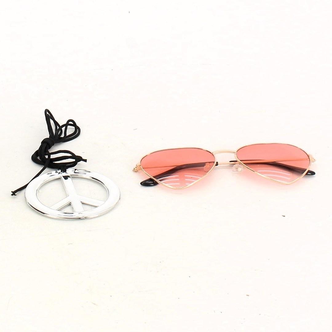 Sluneční brýle Beelittle a náhrdelník Hippie