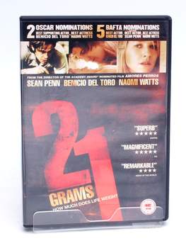 DVD 21 Grams How much does life weigh?