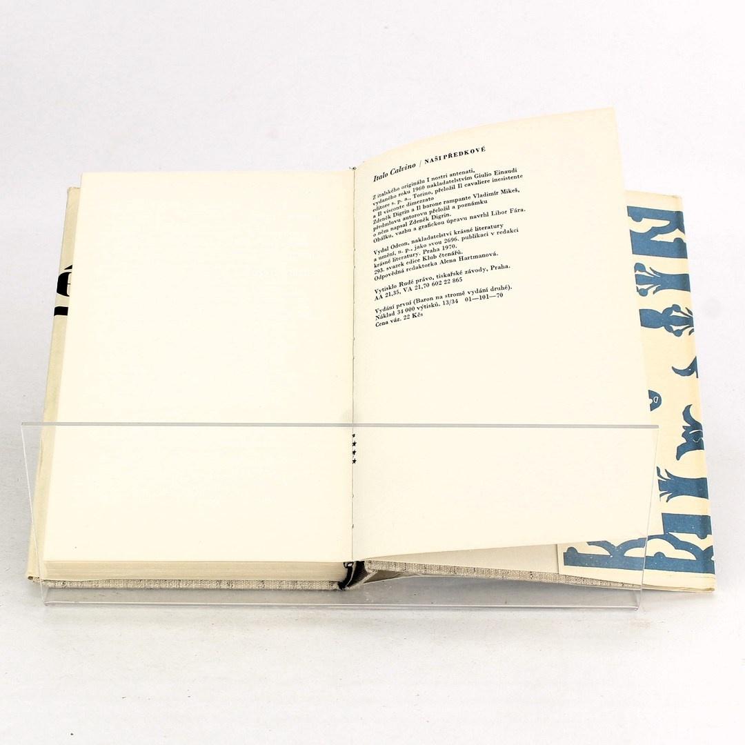Kniha Italo Calvino: Naši předkové