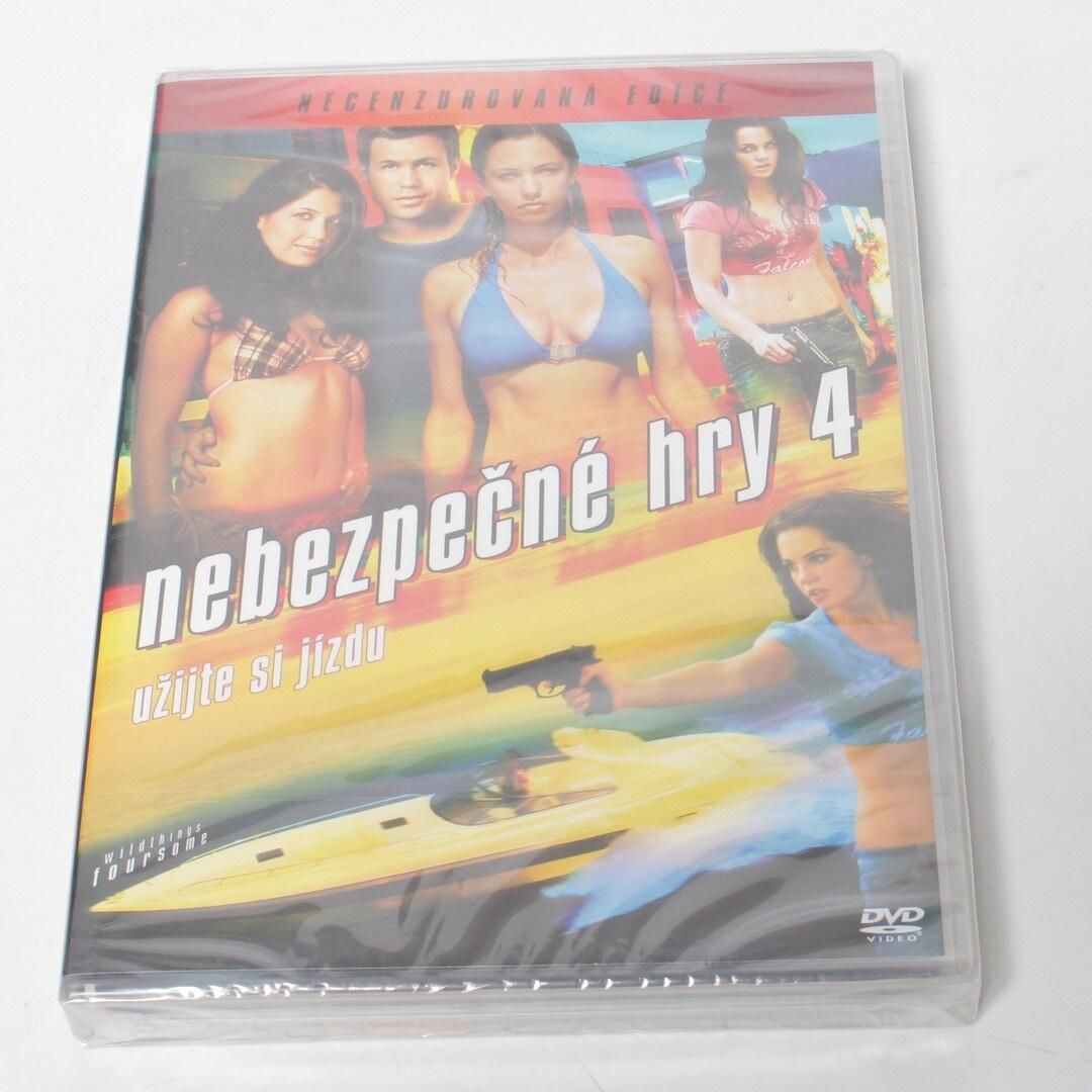 DVD film Nebezpečné hry 4