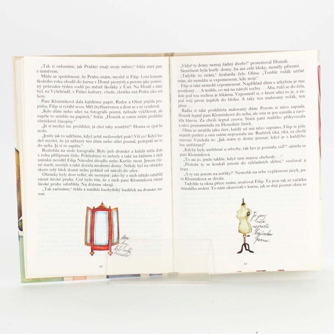 Kniha Výpravy s paní Klomínko..