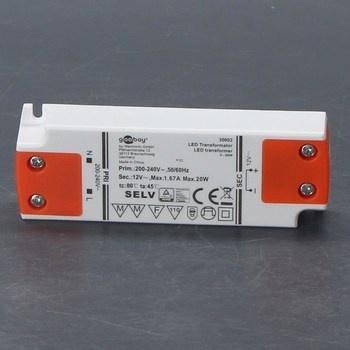 LED transformátor Goobay 30002 12V/20W