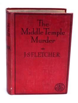 Detektivka The Middle Temple Murder J. S. Fletcher