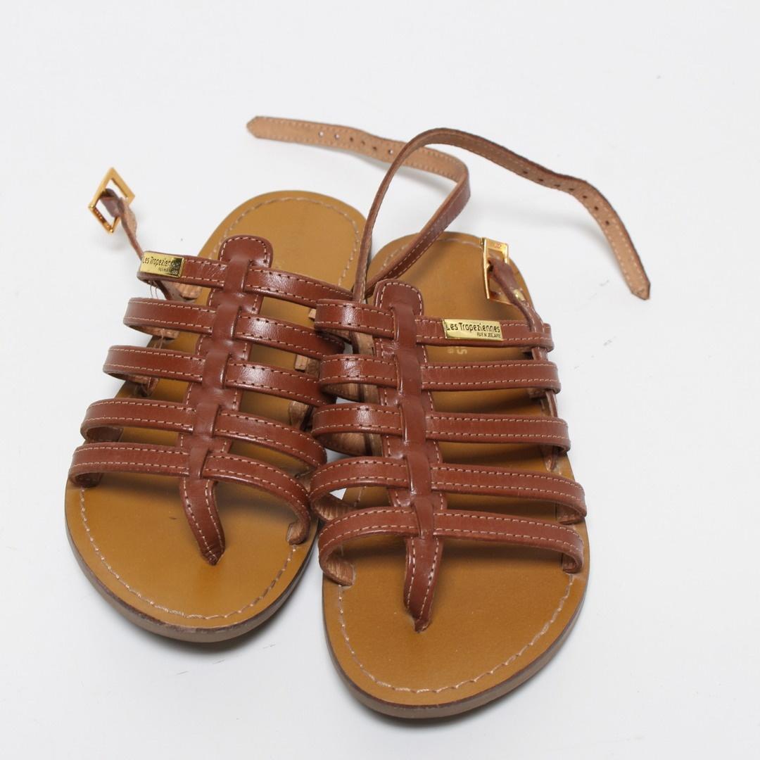 Dámské sandále Les Tropeziennes hnědé