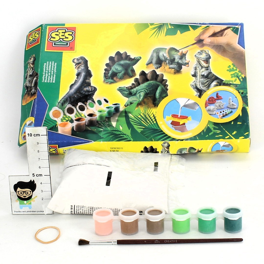 Kreativní sada SES Creative motiv dinosauři