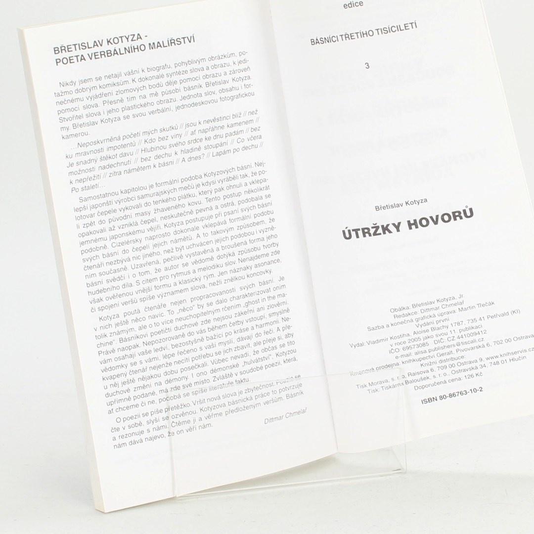Kniha Útržky hovorů
