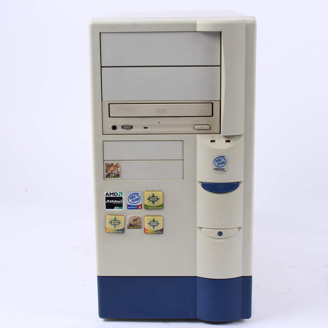 PC Duron 1GHz, 256MB RAM