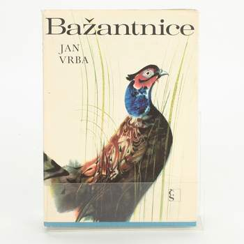 Kniha Bažantice Jan Vrba