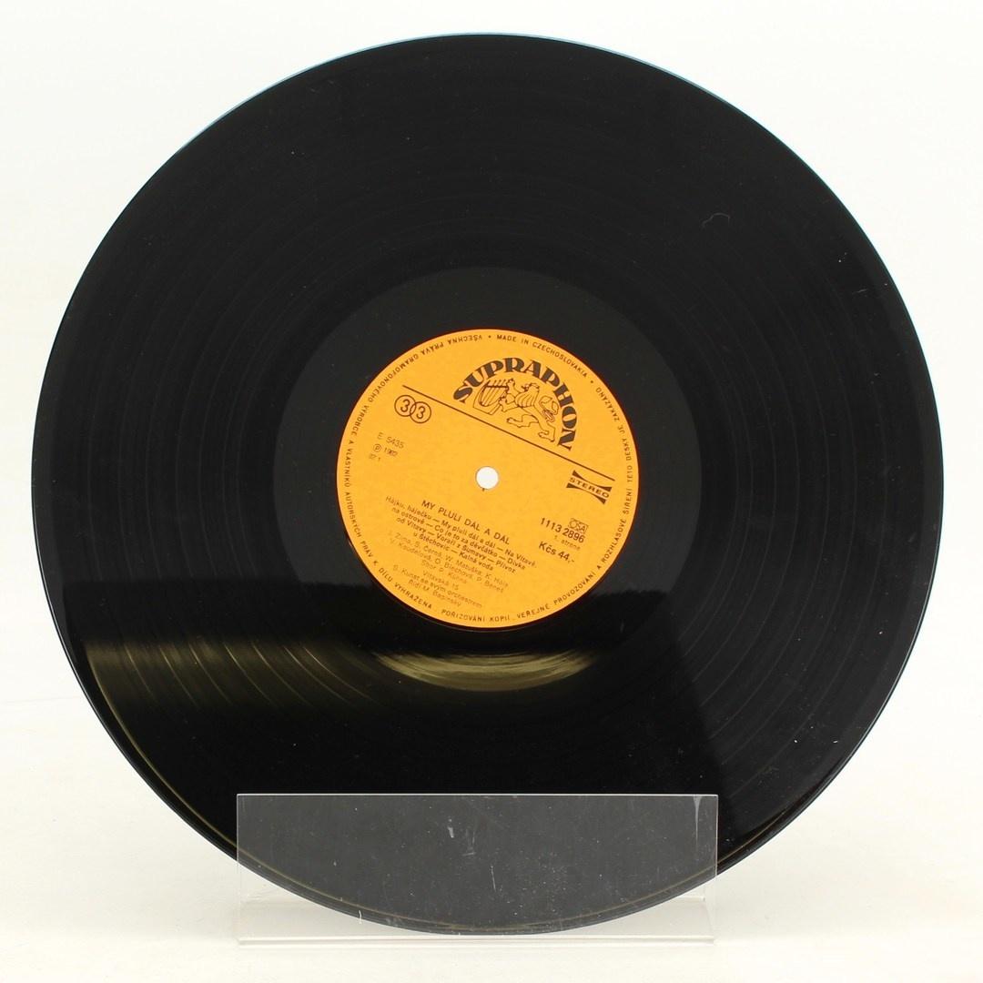 Gramofonová deska Sláva Kunst: My pluli dál a dál