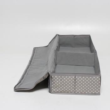 Textilní box Zeller 14665 90x30 cm tečkovaný
