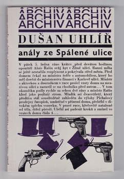 Kniha Dušan Uhlíř: Anály ze Spálené ulice