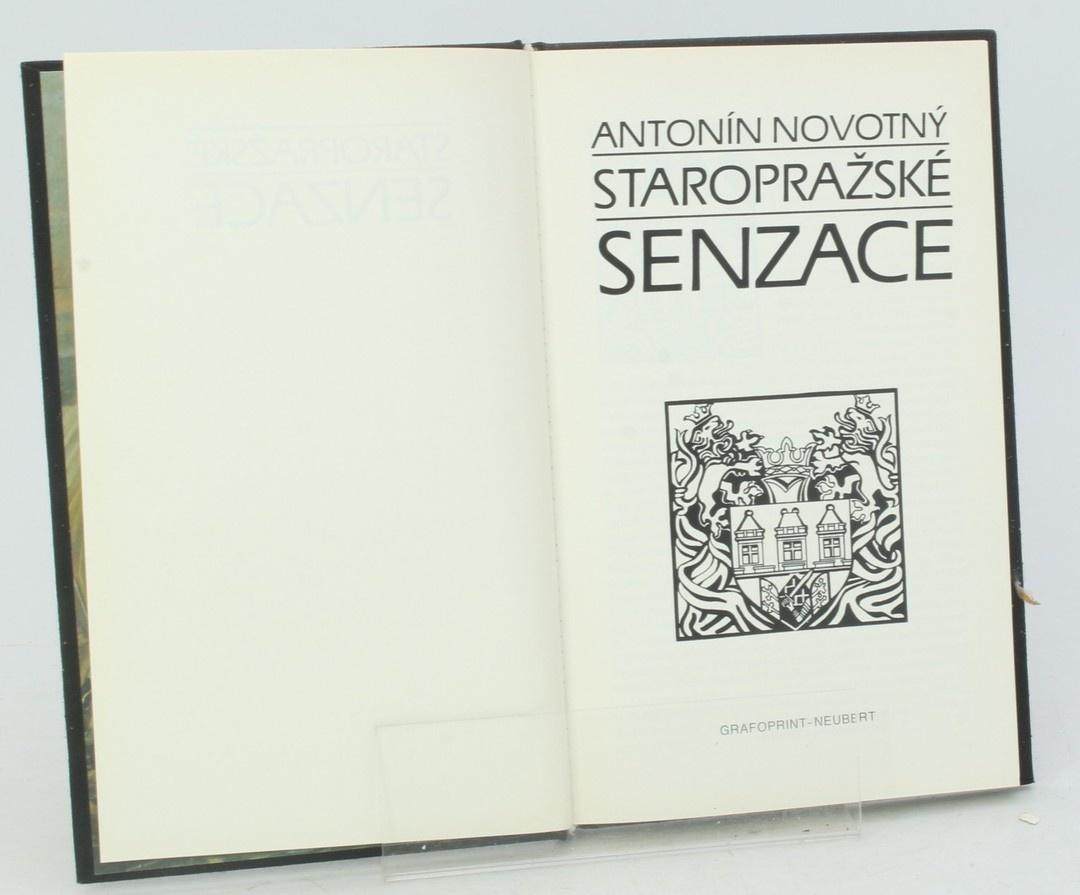 Kniha A. Novotný: Staropražské senzace