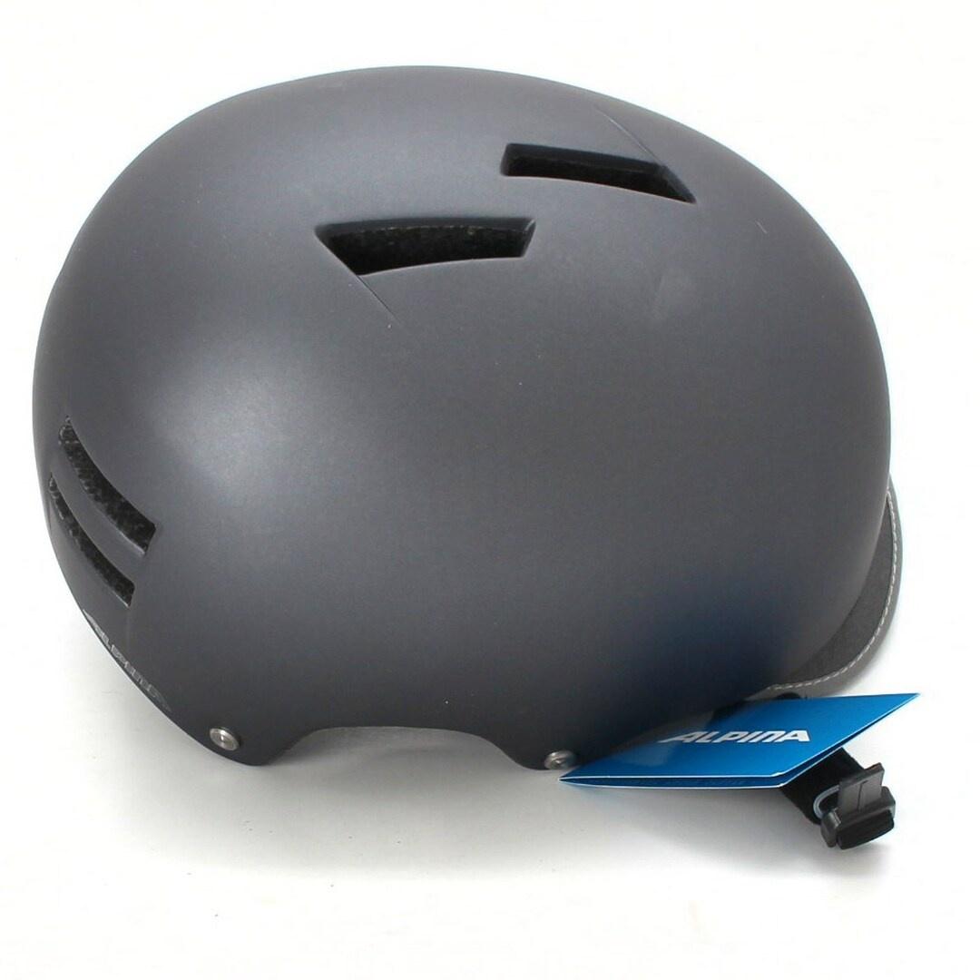 Cyklistická helma Alpina A9726 pánská šedá