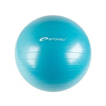 Gymnastický míč Spokey s pumpičkou modrý