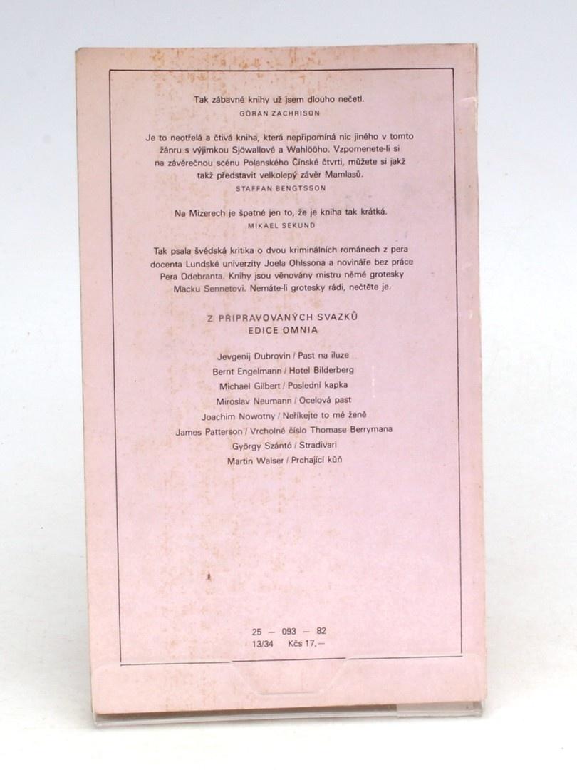 Kniha Odebrant,Ohlsson: Mamlasové a mizerové
