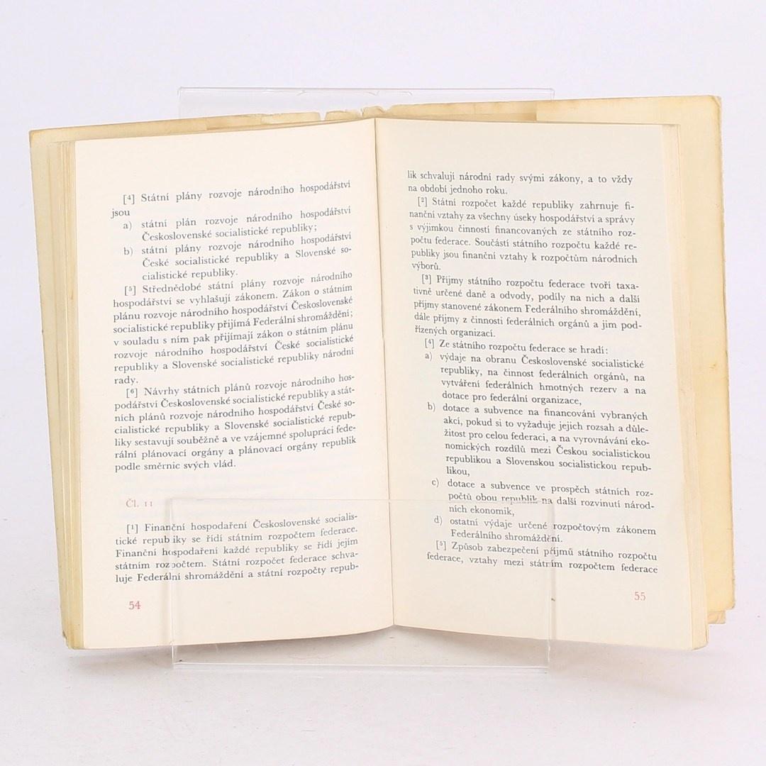 Kniha Ústava ČSSR