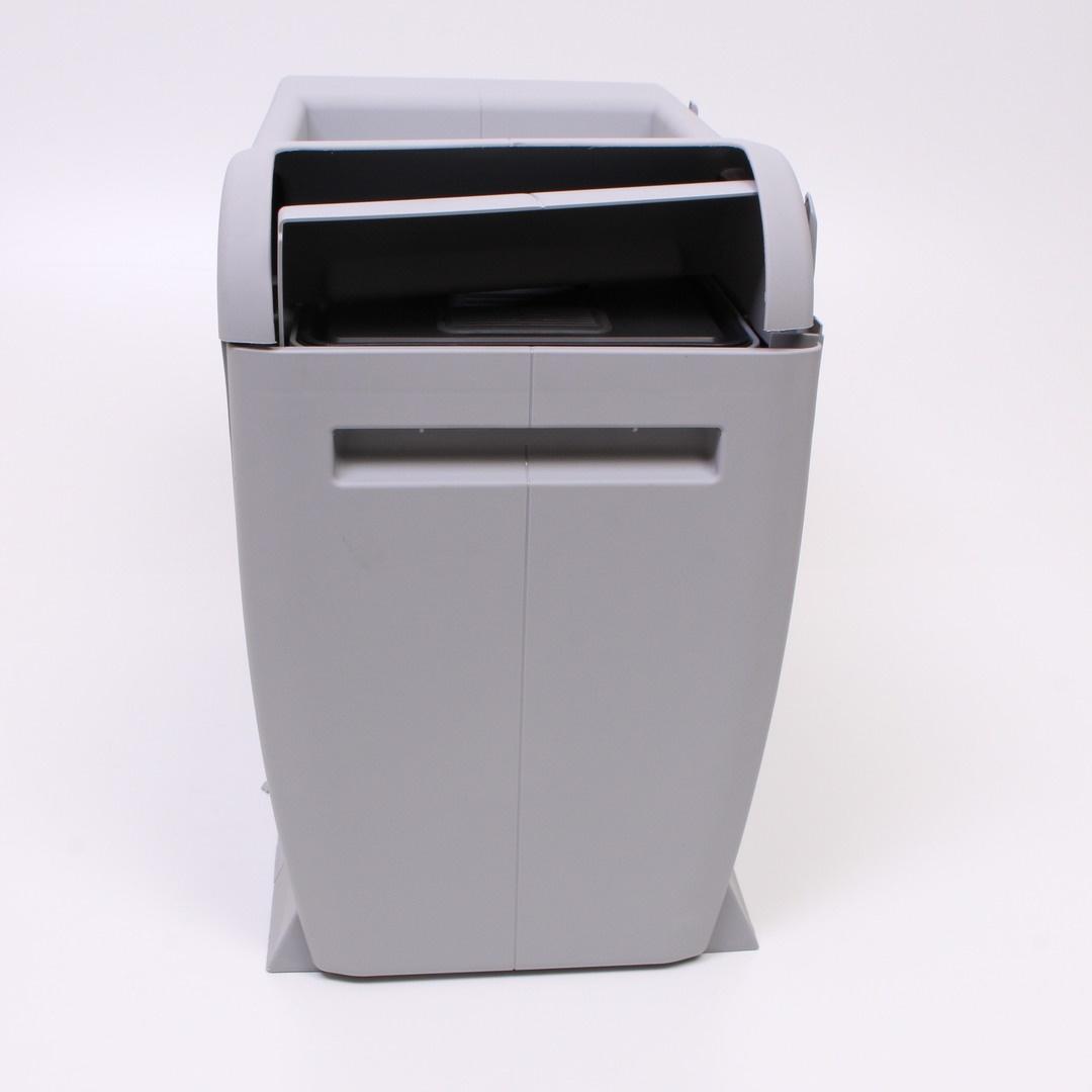 Odpadkový koš plastový šedý